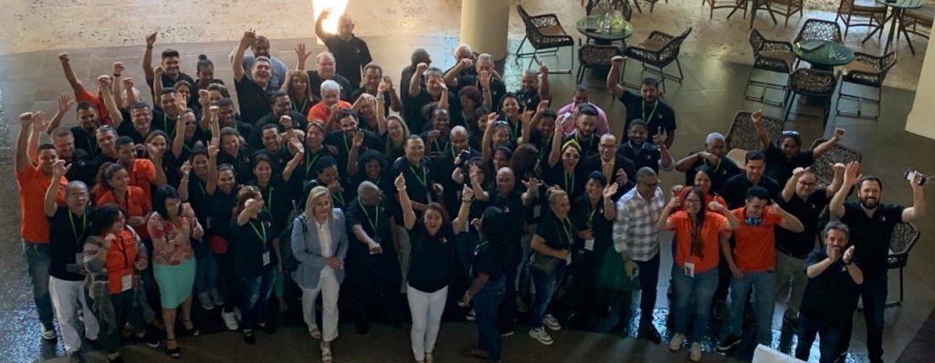 Foto de grupo en COPADES 2019
